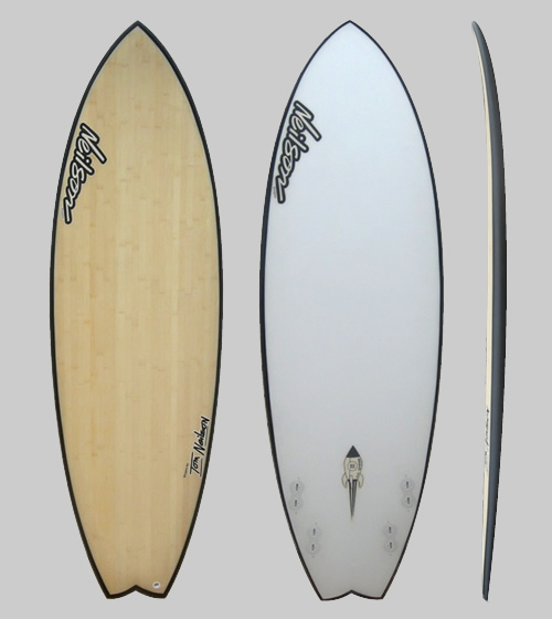 Neilson Surfboards - Floatey Fish - bamboo / carbon