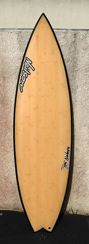 Neilson Surfboards - Bamboo rocketfish surfboard