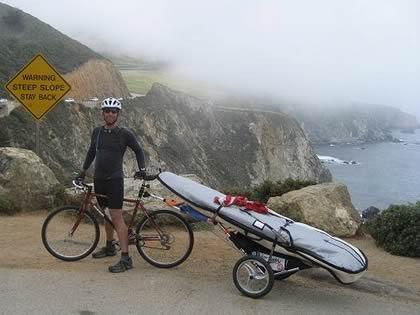 Surf Bike trip overlook
